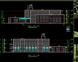 三层幼儿园建筑施工图