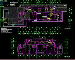 十三层住宅楼电气设计图纸