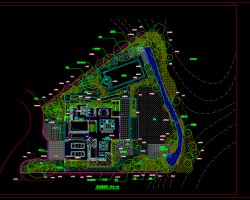 别墅景观绿化种植方案设计图