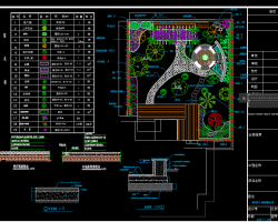 五套私家别墅庭院绿化设计图
