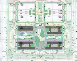 某产业园宿舍、科研楼建筑结构全套施工图纸(含水电暖)