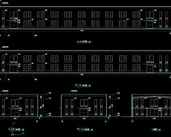 二层钢结构厂房设计图纸(含建筑结构)