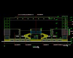 五层钢筋混凝土框架结构食堂建筑施工图