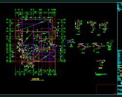 三层别墅结构施工图