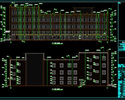 四层商业楼建筑施工图(含结构、水电暖图)