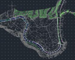 河道安全生态护岸项目施工图纸(含PDF格式图纸)