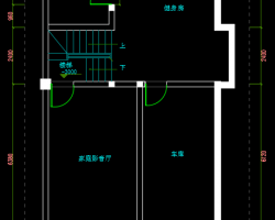300�O现代风格别墅装修施工图纸(含效果图)