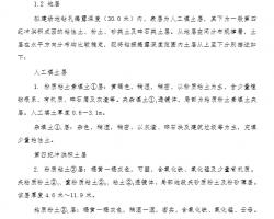 kuang架jian力墙结构住宅项目CFG桩di基处理工程施工组织设ji 32P