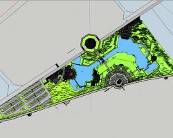 北塔公园景观SketchUp模型
