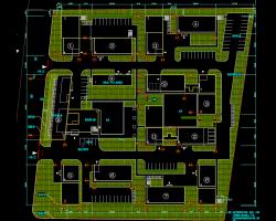 高科技园区小型智能化孵化楼初步设计图纸