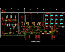 综合楼制冷换热站详图CAD