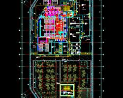 医院制冷机房详图CAD