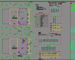 工业厂房电气及自控专业施工图纸