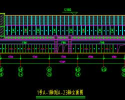 多层商贸中心幕墙设计方案图纸