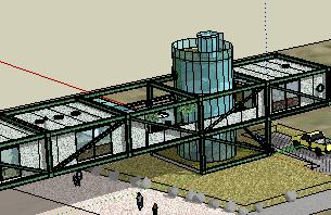 集装箱住宅SketchUp模型