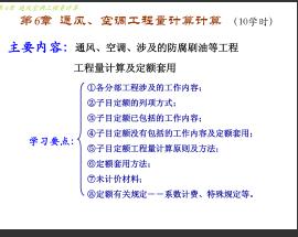 通风空调工程量计算方法课件(图文并茂)