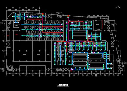 生产车间空调施工图纸