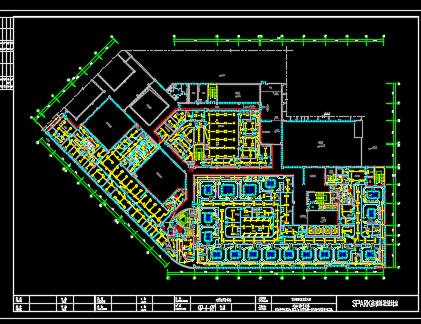 人民医院迁建工程综合楼装修设计图纸(装修、电气、暖通、给排水、自控)