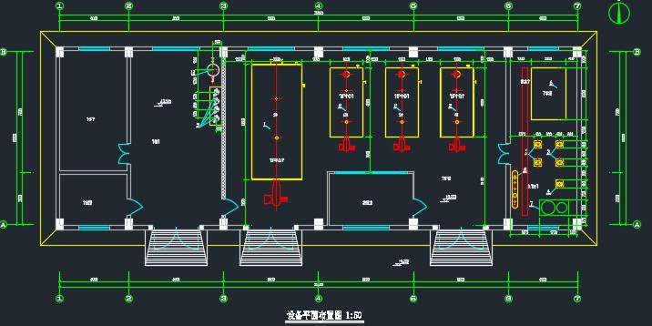 蒸汽锅炉房设计施工图纸