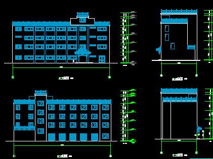 某四层宾馆工程空调设计图纸