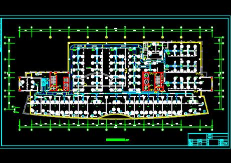 某十六层办公楼暖通设计图纸