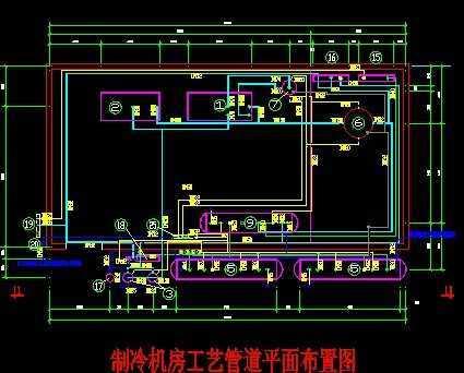 食品冷库制冷系统设计图图片