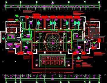 某市工商局多联机空调设计图