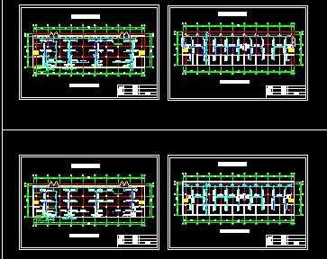 某四层办公楼空调工程设计图免费下载-家装设计要学什么专业图片