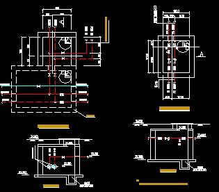 某厂房室外采暖管道工程施工图免费下载 - 暖通图纸