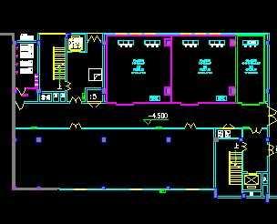 某疾病预防控制中心综合楼冷库设计图图片