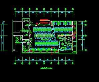 某网吧机房装修改造工程图