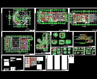 某工业厂房空调设计图