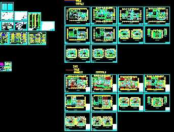 某高层中央空调设计图