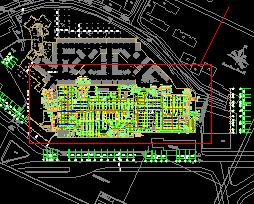六层商场空调通风防排烟施工图纸
