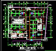 五层商场空调设计图纸