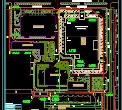五层购物广场空调设计图纸