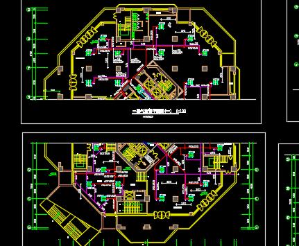 某31层综合楼暖通空调设计图纸