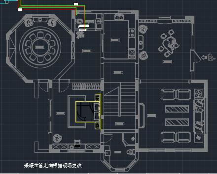 三层自建别墅采暖工程施工图纸