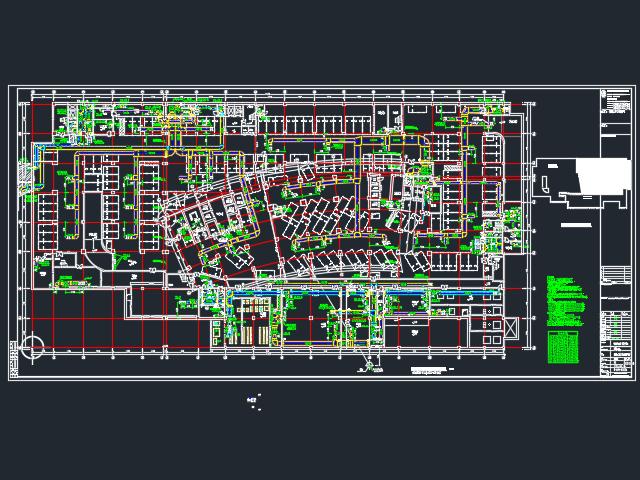 某医院暖通工程施工图