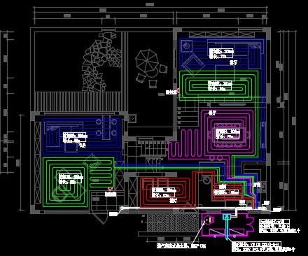 中央空调系统设计图
