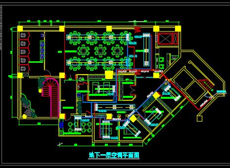 某美容整形医院空调系统设计图纸