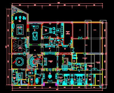 综合办公楼暖通系统设计图纸
