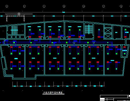 某高层艺术大厦空调设计方案图