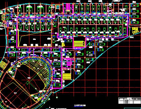 十六层文化交流中心大厦空调设计图