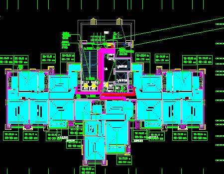 高层住宅建筑采暖通风系统设计施工图