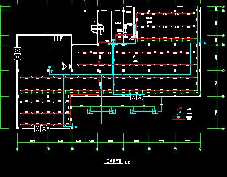 双层别墅建筑空调及通风系统设计施工图(含消防设计)