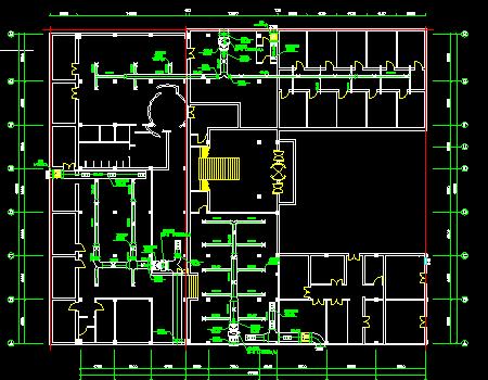 洗浴会馆中央空调工程系统设计施工图