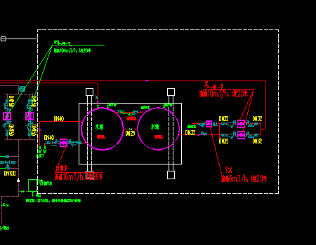商业大楼宾馆酒店空调系统设计施工图(空气源热泵)