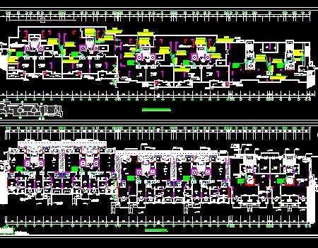 二十层住宅项目通风防排烟系统设计施工图