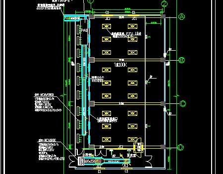洁净空调及装修工程设计施工图